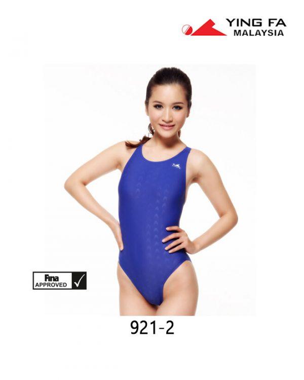 YingFa Women 921-2 Shark Scale Swimsuit - Fina Approved | YingFa Ventures Malaysia
