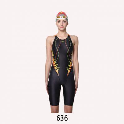 YingFa Women Professional Full Knee Swimwear 636 | YingFa Ventures Malaysia