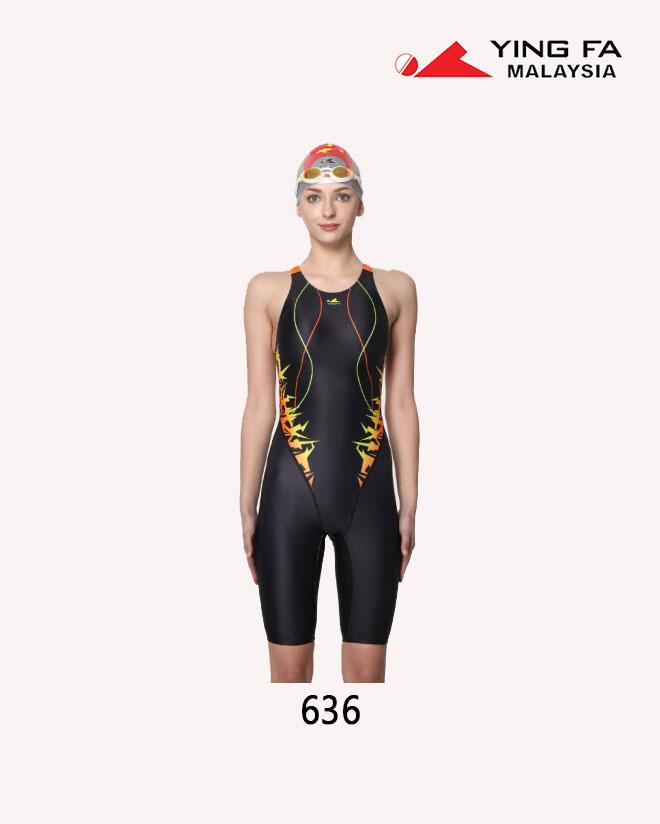 145af5a2f5c9d YingFa Women Professional Full Knee Swimwear 636 | YingFa Ventures Malaysia
