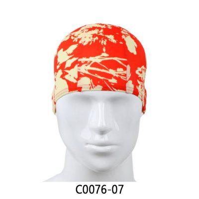 YingFa Graphic Fabric Swimming Cap C0076-07 | YingFa Ventures Malaysia