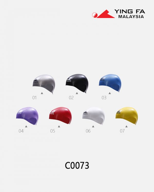 yingfa-plain-moulded-swimming-cap-c0073