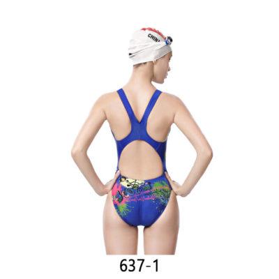 YingFa Female 637-1 Race-Skin Performance Swimsuit 2019 | YingFa Ventures Malaysia